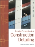 Architect's Handbook of Construction Detailing av David Kent Ballast (Innbundet)