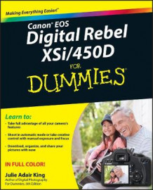 Canon EOS Digital Rebel XSi/450D For Dummies av Julie Adair King (Heftet)