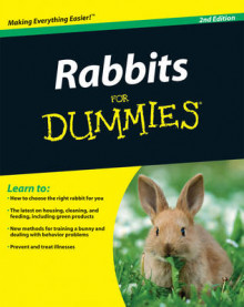 Rabbits for Dummies av Connie Isbell og Audrey Pavia (Heftet)