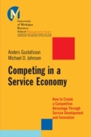 Competing in a Service Economy av Michael D. Johnson og Anders Gustafsson (Heftet)