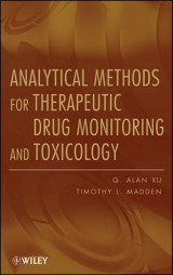 Omslag - Analytical Methods for Therapeutic Drug Monitoring and Toxicology