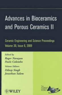 Advances in Bioceramics and Porous Ceramics (Innbundet)