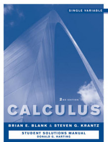 Calculus - Single Variable av Brian E. Blank og Steven G. Krantz (Heftet)