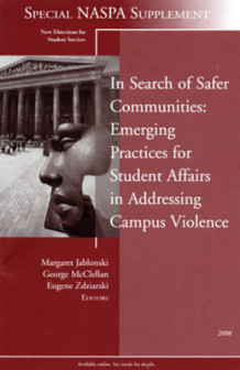 In Search of Safer Communities Winter 2008 av Student Services (SS) (Heftet)