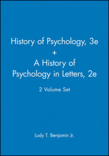 History of Pyschology Reader: AND A History of Psychology in Letters av Benjamin (Heftet)
