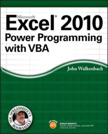 Excel 2010 Power Programming with VBA av John Walkenbach (Heftet)