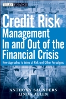 Credit Risk Measurement in and Out of the Financial Crisis, Third Edition av Anthony Saunders og Linda Allen (Innbundet)