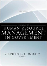Omslag - Handbook of Human Resource Management in Government