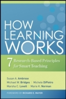 How Learning Works av Susan A. Ambrose, Michael W. Bridges, Michele DiPietro, Marsha C. Lovett og Marie K. Norman (Innbundet)