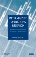 Deterministic Operations Research av David J. Rader (Innbundet)