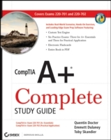 CompTIA A+ Complete Study Guide: Exams 220-701 (Essentials) and 220-702 (Pr av Quentin Docter, Emmett Dulaney og Toby Skandier (Heftet)