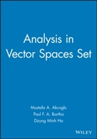 Analysis in Vector Spaces Set av Mustafa A. Akcoglu, Paul F.A. Bartha og Dzung Minh Ha (Innbundet)
