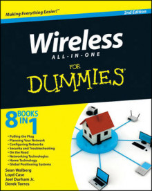 Wireless All in One For Dummies av Sean Walberg, Loyd Case, Durham og Derek Torres (Heftet)