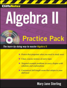 CliffsNotes Algebra II Practice Pack av Mary Jane Sterling (Heftet)