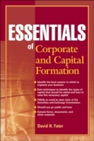 Essentials of Corporate and Capital Formation av David H. Fater (Heftet)