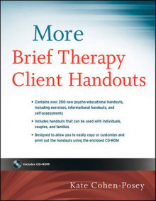 More Brief Therapy Client Handouts av Kate Cohen-Posey (Heftet)