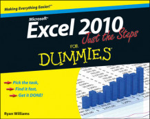 Excel 2010 Just the Steps For Dummies av Diane Koers (Heftet)
