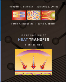 Introduction to Heat Transfer 6E av Theodore L. Bergman, Adrienne S. Lavine, Frank P. Incropera og David P. DeWitt (Innbundet)
