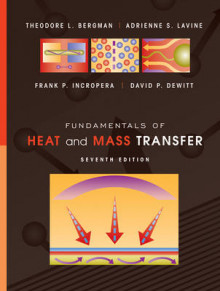Fundamentals of Heat and Mass Transfer 7E av Theodore L. Bergman, Adrienne S. Lavine, Frank P. Incropera og David P. DeWitt (Innbundet)
