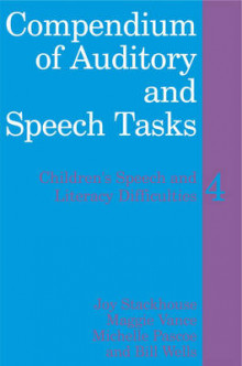Compendium of Auditory and Speech Tasks av Joy Stackhouse, Bill Wells, Maggie Vance og Michelle Pascoe (Heftet)