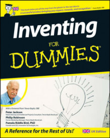 Inventing For Dummies av Professor Peter Jackson, Philip Robinson og Pamela Riddle Bird (Heftet)
