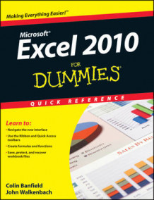 Excel 2010 For Dummies Quick Reference av Colin Banfield og John Walkenbach (Heftet)