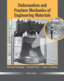 Deformation and Fracture Mechanics of Engineering Materials 5E av Richard W. Hertzberg, Richard P. Vinci og Jason L. Hertzberg (Innbundet)