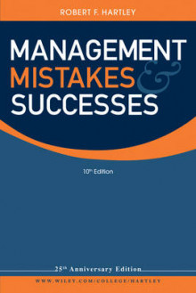 Management Mistakes and Successes av Robert F. Hartley (Heftet)
