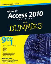 Access 2010 All-in-One For Dummies av Alison Barrows, Margaret Levine Young og Joseph C. Stockman (Heftet)