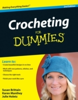 Crocheting For Dummies av Susan Brittain, Karen Manthey og Julie Holetz (Heftet)