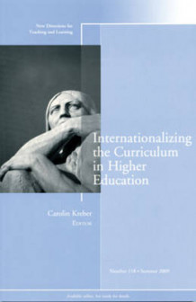 Internationalizing the Curriculum in Higher Education Summer 2009 (Heftet)