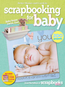 """Better Homes and Gardens"" Let's Start Scrapbooking for Baby av Better Homes & Gardens (Heftet)"