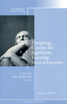 Designing Courses for Significant Learning: Voices of Experience (Heftet)