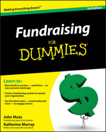 Fundraising For Dummies av John Mutz og Katherine Murray (Heftet)