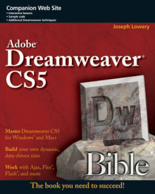 Adobe Dreamweaver CS5 Bible av Joseph W. Lowery (Heftet)