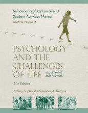 Psychology and the Challenges of Life, Study Guide , 11th Edition av Jeffrey S. Nevid og Spencer A. Rathus (Heftet)
