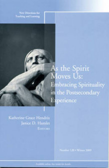 As the Spirit Moves Us (Heftet)