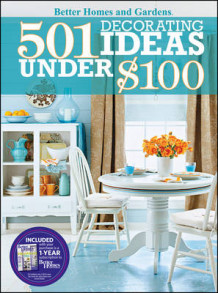 501 Decorating Ideas Under $100 av Better Homes & Gardens (Heftet)