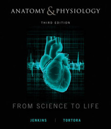 Anatomy and Physiology av Gail W. Jenkins, Christopher Kemnitz og Gerard J. Tortora (Innbundet)