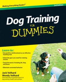 Dog Training For Dummies av Jack Volhard og Wendy Volhard (Heftet)