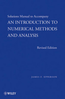An Introduction to Numerical Methods and Analysis av James F. Epperson (Heftet)