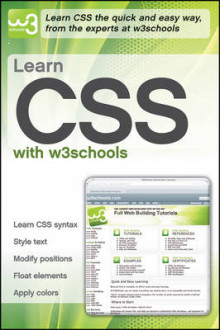 Learn CSS with W3Schools av W3Schools (Heftet)