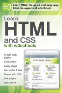 Learn HTML and CSS with W3Schools av W3Schools (Heftet)
