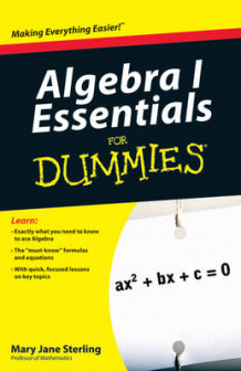 Algebra I Essentials For Dummies av Mary Jane Sterling (Heftet)
