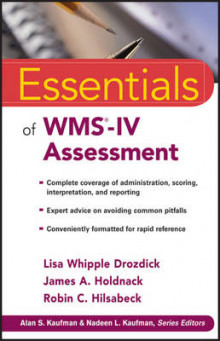 Essentials of WMS-IV Assessment av Lisa W. Drozdick, James A. Holdnack og Robin C. Hilsabeck (Heftet)