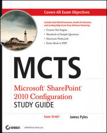 MCTS Microsoft SharePoint 2010 Configuration Study Guide av James Pyles (Heftet)