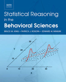 Statistical Reasoning in the Behavioral Sciences av Bruce M. King, Patrick J. Rosopa og Edward W. Minium (Innbundet)