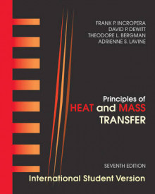 Principles of Heat and Mass Transfer av Theodore L. Bergman, Adrienne S. Lavine, Frank P. Incropera og David P. DeWitt (Heftet)