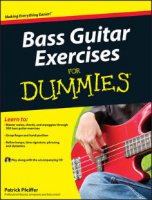 Bass Guitar Exercises For Dummies av Patrick Pfeiffer (Heftet)