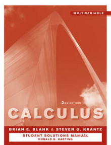 Calculus, Multivariable Student Study and Solutions Companion av Brian E. Blank og Steven G. Krantz (Heftet)